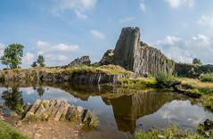 Herrenhausfelsen (matthias_oberlausitz) Tags: herrenhausfelsen panska skala novi bor basalt vulkanismus spiegelung stein felsen sulen orgel bhmen tschechien