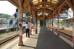 DSC03583 (Alexander Morley) Tags: japanese railway society japan trains jr west shinji station sanin main line
