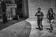 15th Street near City Hall, 2016 (Alan Barr) Tags: 15thstreet cityhall philadelphia 2016 street sp streetphotography streetphoto blackandwhite bw blackwhite mono monochrome candid people ricoh gr