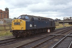 40161 Perth #2 23-7-79 (Brian Daniels) Tags: english electric 40 whistlers class40