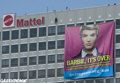 Barbie, It's Over (Greenpeace USA 2013) Tags: california usa indonesia losangeles unitedstates destruction ken barbie forests mattel app deforestation rainforests