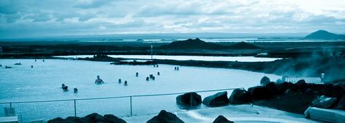 Baños de Myvatn en Islandia