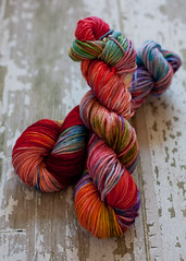 'Life' on invigorate worsted SW merino
