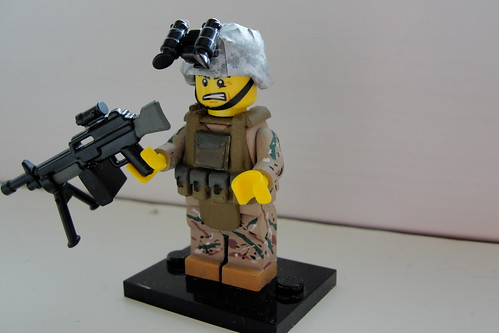 Custom minifig US Army RANGER