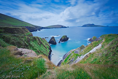 Great Blasket Island (Joe Azure) Tags: blue ireland sky scenic dingle azure atlanticocean lanscape dinglepeninsula sleahead blasketislands
