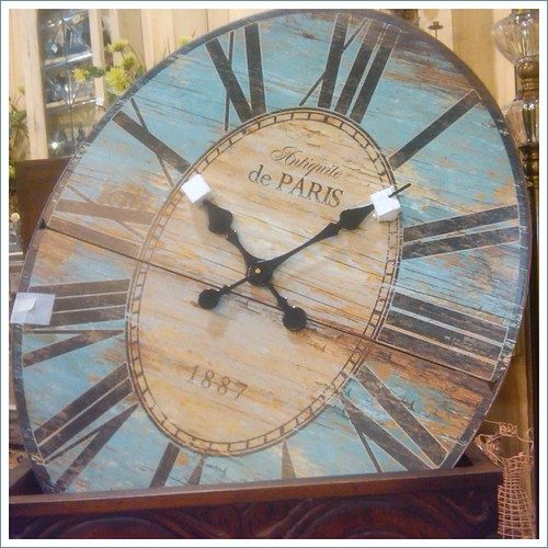 paul mitchell vintage paris clock