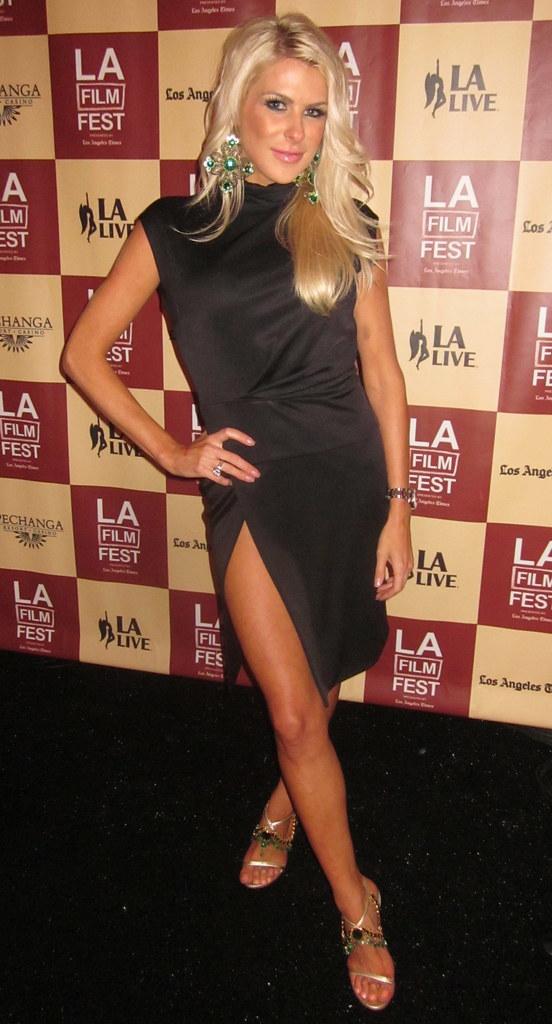 Jennifer Lexon, Lloyd Klein Couture Dress, LA Film Festival