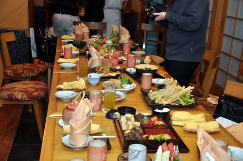 spread food