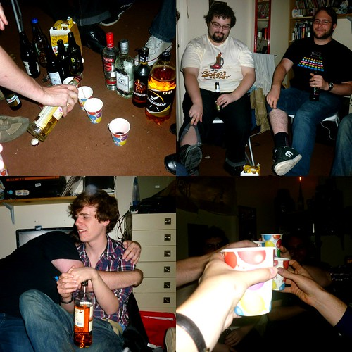 Collage - drinking