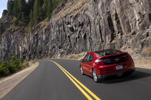 2011 Chevrolet Volt - NRMA Drivers seat