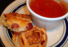 Pizza Rolls (palbertson) Tags: cheese recipes pepperoni pizzadough pizzarolls marinarasauce