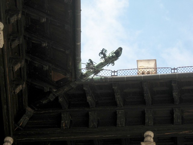 Dragon rain pipe, Wawels Castle, Krakow