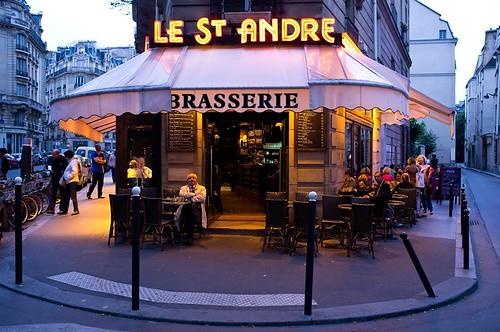 Brasserie Le St. Andre. Quartier Saint Michel