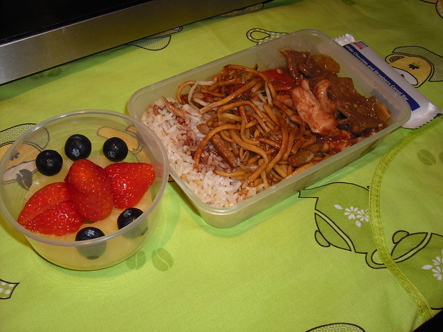 Chinese Leftover Bento
