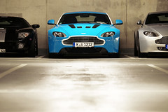 explore AMV12 (Philipp Lcke) Tags: blue light ford martin gt v8 aston vantage v12 24h nrburgring 2011 amv8 amv12