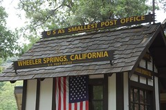 "Wheeler Springs<br /><span style=""font-size:0.8em;"">Wheeler Springs World's Smallest Post Office</span> • <a style=""font-size:0.8em;"" href=""https://www.flickr.com/photos/8339863@N04/5898747950/"" target=""_blank"">View on Flickr</a>"