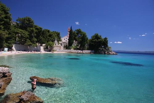 Snorkler, Isle of Brac, Croatia 2011