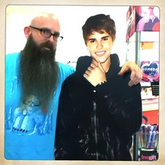 Beards & Beibs (8 Skeins of Danger) Tags: 8skeinsofdanger justinbeiber hipstamatic inas1969film hornbeckerlens