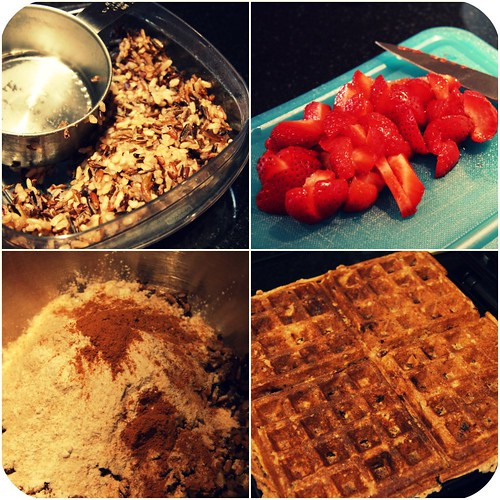 Waffle collage