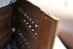Leather Belt (Elisa-Lee) Tags: brown leather belt perforated leatherbelt