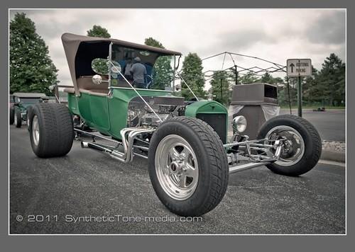 Emerald Green Hot Rod