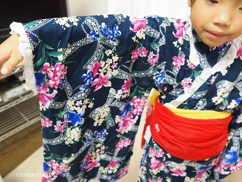 14cf0cbf830c1 夏祭りや花火大会に♪ 風情ある子供用浴衣