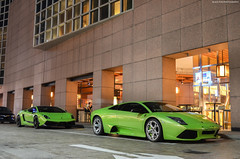Verde Ithaca x2 (BLACKFOXPHOTOGRAPHY) Tags: verde speed italian singapore fierce extreme fast bull double trouble exotic nightlife ithaca lamborghini supercar italians supercars murcielago fastcars superleggera blackfoxphotography exoticars alexpenfold effspot sathyamelvani
