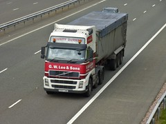 PX57 CMZ (Cammies Transport Photography) Tags: truck volvo amp lorry lee gw fh flyover sons m74 lockerbie px57cmz