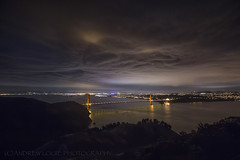 Ominous October Skies (Andrew Louie Photography) Tags: ominous october skies sky golden gate bridge san francisco autumn fall 2016 halloween darkness jazz coffee jazza