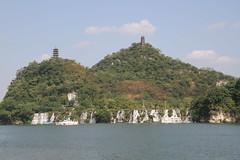 Liuzhou/ 3636 (Petr Novk ()) Tags: river water     city building architecture   waterfall  china na  guangxi  liuzhou  asia asie