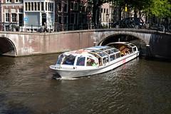 """Canal cruiser """"Breitner"""" (DennisM2) Tags: rondvaartboot toerisme amsterdam tourism canalcruiser leidsegracht keizersgracht"""