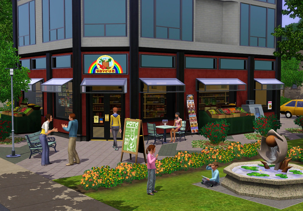 Sims 3 Town Life Stuff Pack Grocery Store