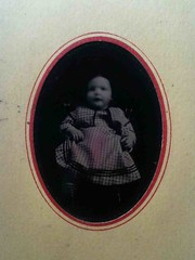 Baby blur (smokey lace) Tags: baby girl blurry victorian eerie spooky tintype haunting