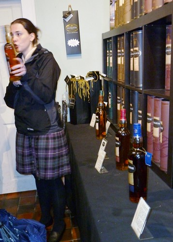 Tour Guide at Glengoyne