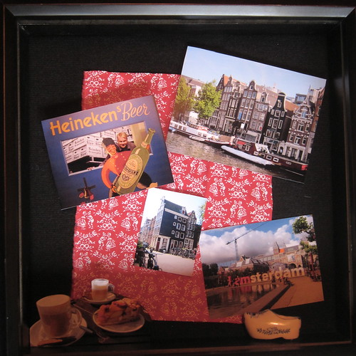 Day 23 - Amsterdam Shadow Box (almost done)