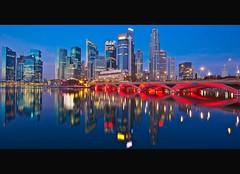 Captivating Singapore (Mel Mijares) Tags: blue tourism skyline night race marina canon reflections 1 bay yahoo google sand f1 parade explore hour ndp formula 5d cbd frontpage mk merlion singapura mbs singapores enterainment nationalday11