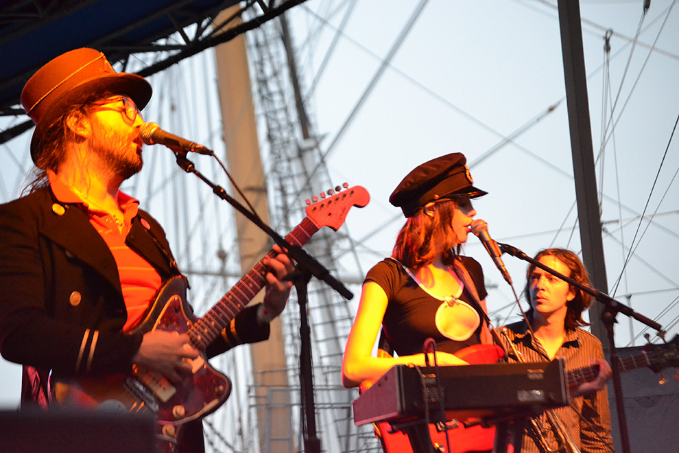 Ghost of a Saber Tooth Tiger at South Street Seaport, June 24, 2011