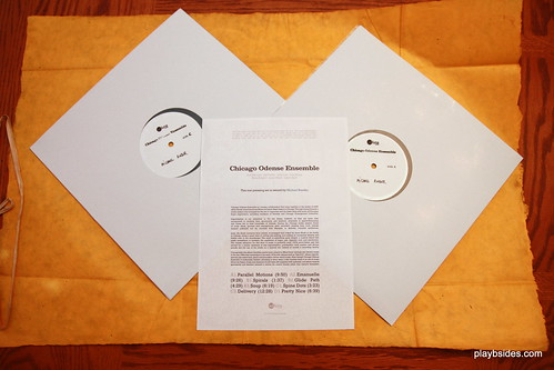 Chicago Odense Ensemble Test Pressing Unwrapped