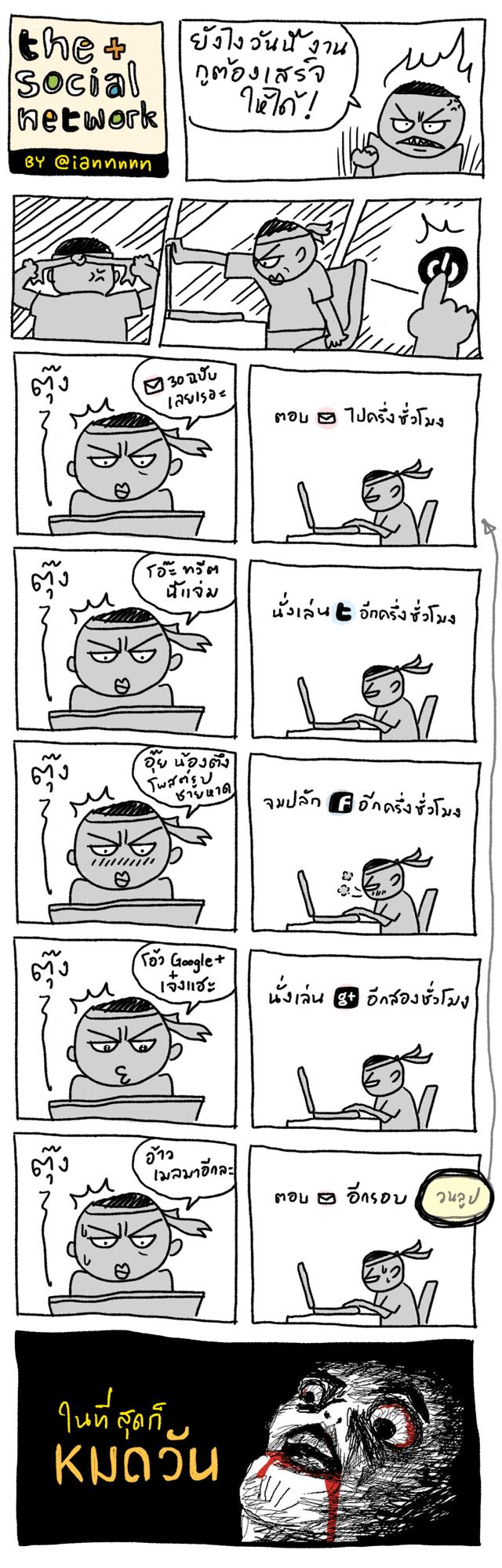 the social network by @iannnnn