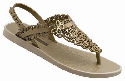 Ipanema GB Butterfly Sandal Fem-beige_gold