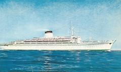 SS Leonardo Di Vinci, Italian Line (photolibrarian) Tags: leonardodivinci italianline