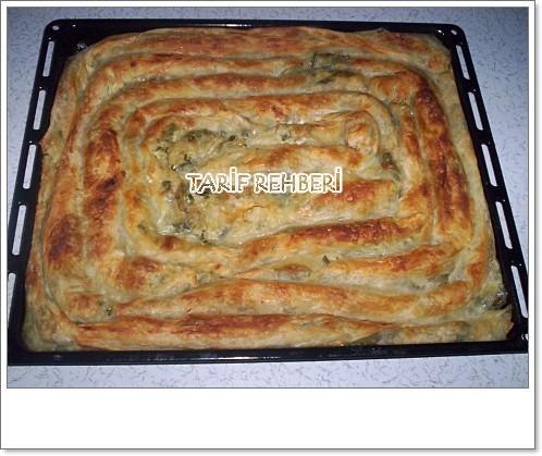 ıspanaklı börek