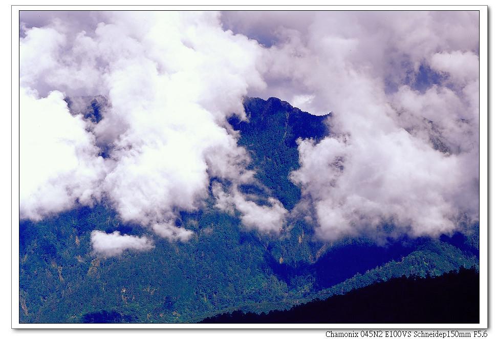 我與武陵機的合歡山之行