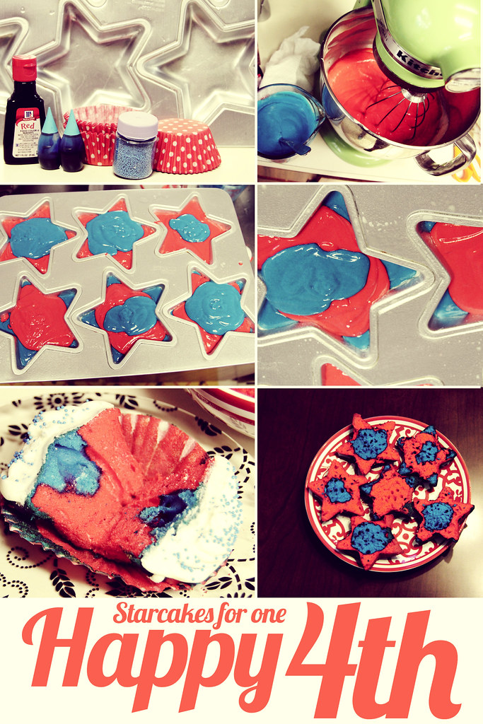 Starcakes for the 4th of July