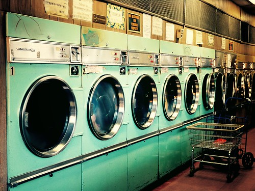 Laundromat, Lower East Side, New York City - 0001