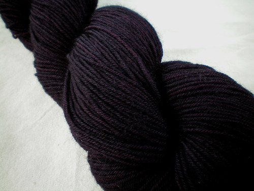 Overdyed Hand-dyed Yarns: Because The Night