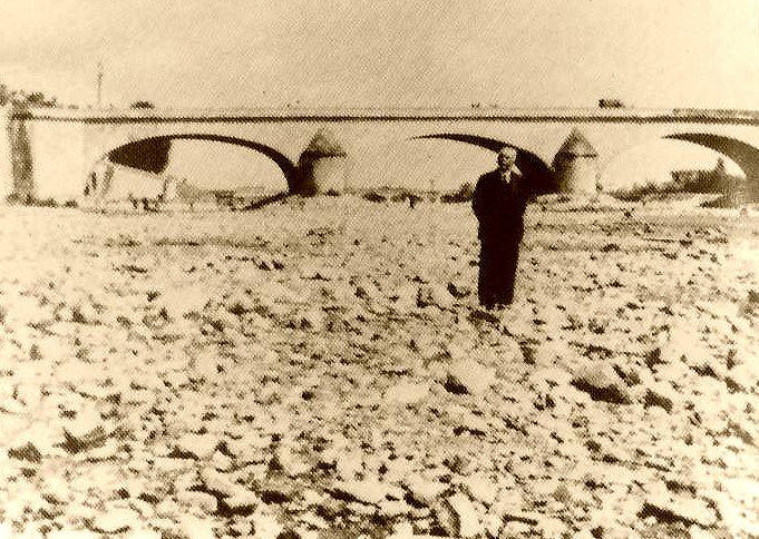 etiage en Loire 1949 météopassion
