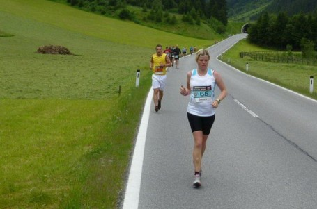Gletscher Marathon: Od ledovce do údolí
