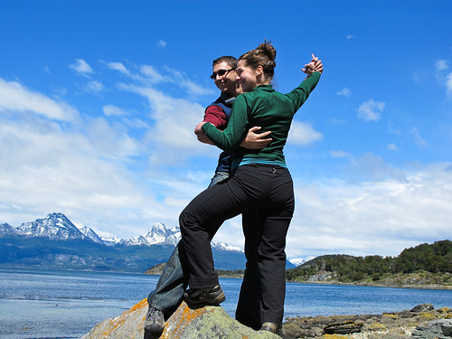 Pausing for a Dance in Tierra del Fuego