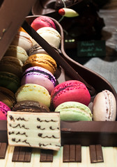 Chocolate and Macarons (ajagendorf25) Tags: food baby paris france keys dessert nikon sweet chocolate paste piano almond ivory grand jelly 1855 cocoa ebony confection cacao macaron d90 ajagendorf25 alexjagendorf
